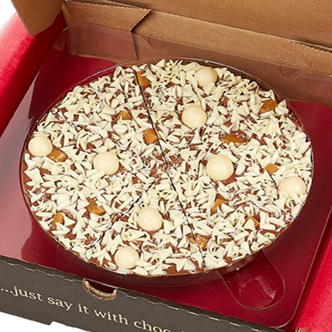 "Salted Caramel 7"" Gourmet Chocolate Pizza by The Gourmet Chocolate Pizza Company Ltd on OOSTOR.com"