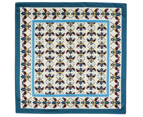 The Open-Winged Jewel Beetle Scarf With Border by Farnworth & Cole on OOSTOR.com
