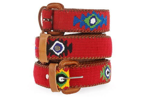 Polo Belt Red Pepper