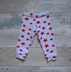Baby red star Leggings