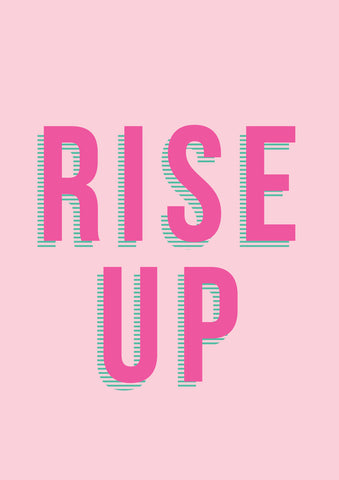 Rise Up Wall Art Print by The Native State