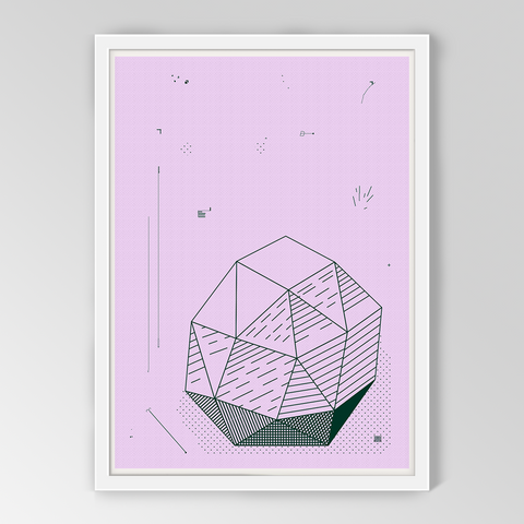 Rose Quartz Print by Fundamental Berlin on OOSTOR.com