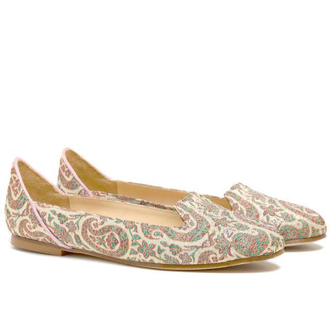 Rose Garden of Isfahan Flat Shoes