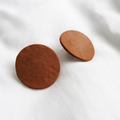 Boulder Porcelain Earrings by Machami Studio on OOSTOR.com