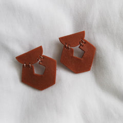 Eclipse Porcelain Earrings