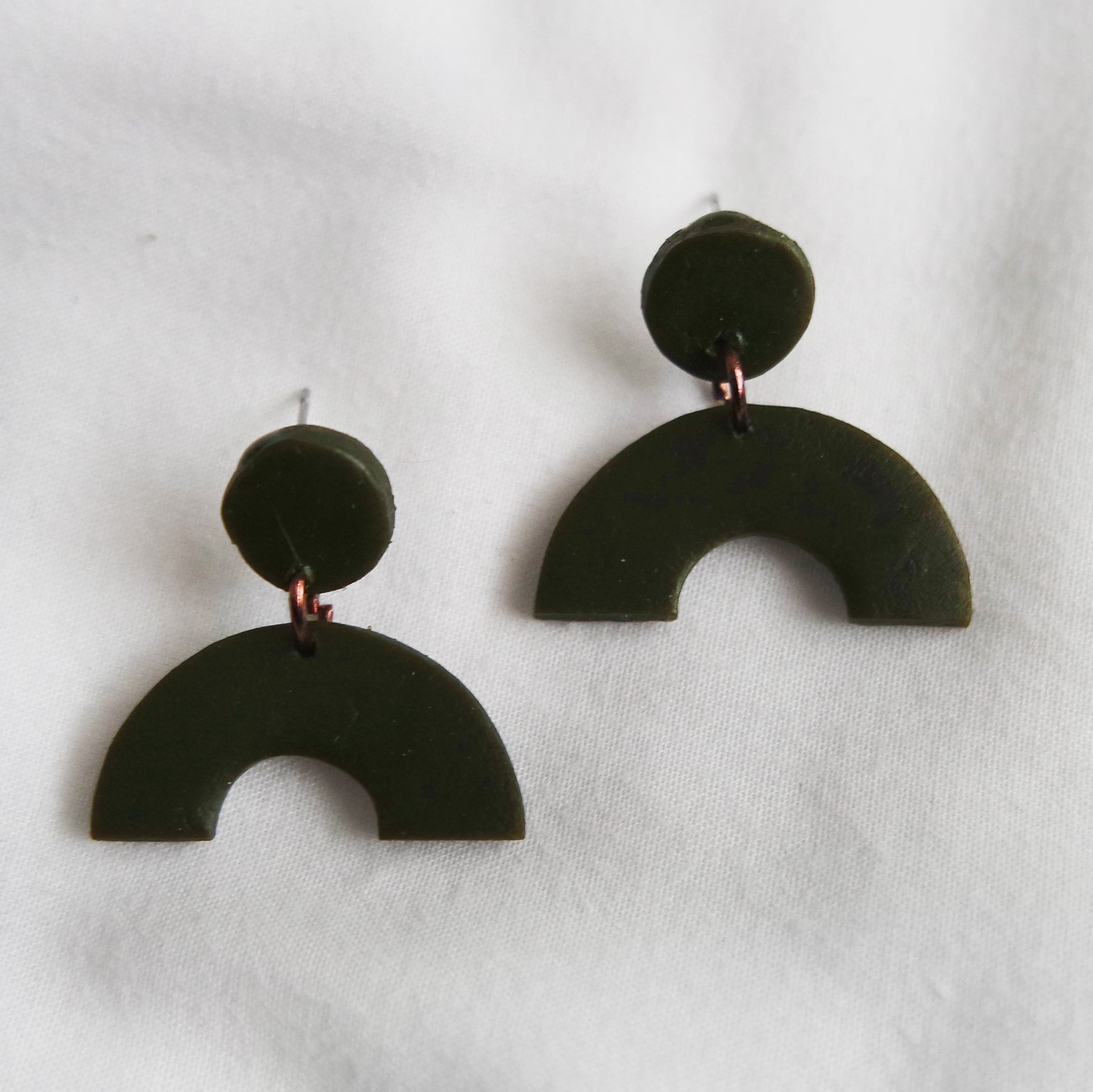 Dusk Porcelain Earrings