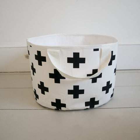 SHALLOW STORAGE BAG IN CROSS by Wildfire Teepees on OOSTOR.com