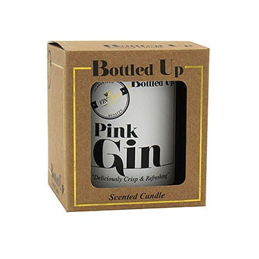 Pink Gin Bottle Candle by Sole Favors on OOSTOR.com