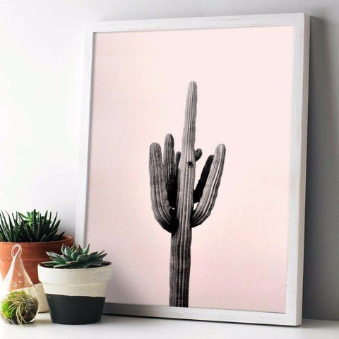 Saguaro Cactus Print by Swell Made Co on OOSTOR.com