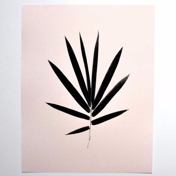 Fan Palm Leaf Print by Swell Made Co on OOSTOR.com