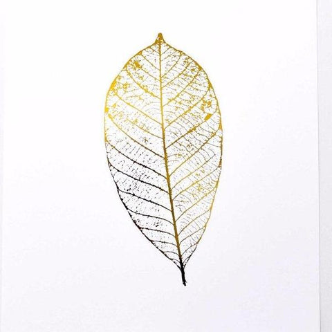 Gold Leaf Print by Swell Made Co on OOSTOR.com