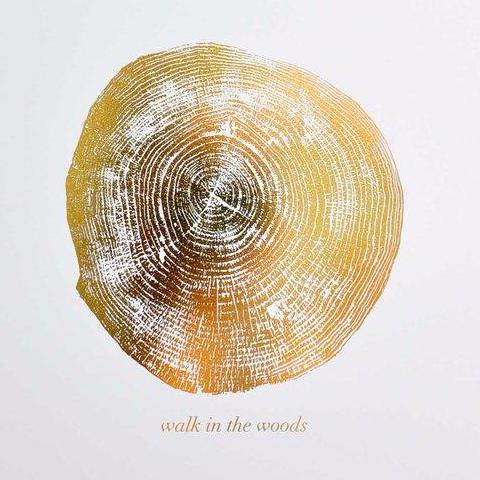 Walk In The Woods Print by Swell Made Co on OOSTOR.com