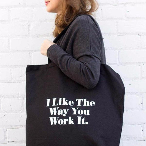Work It Tote Bag by Swell Made Co on OOSTOR.com