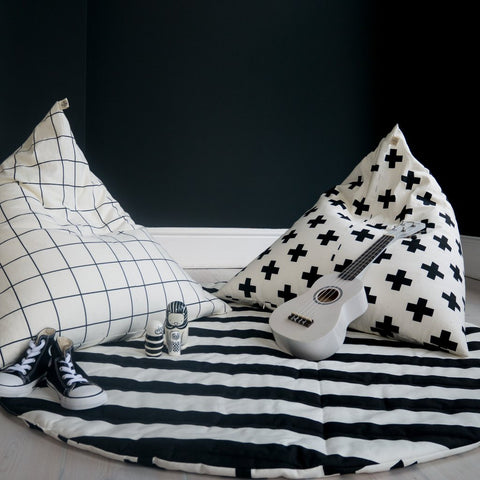 STRIPE/CROSS PRINT PLAY MAT by Wildfire Teepees on OOSTOR.com