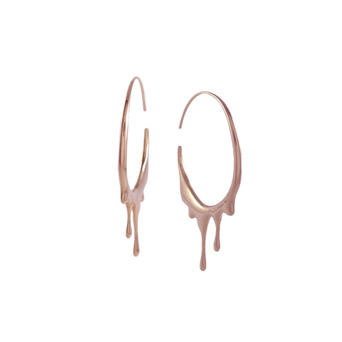 Dripping Cirular Rose Gold by MARIE JUNE™ Jewelry on OOSTOR.com