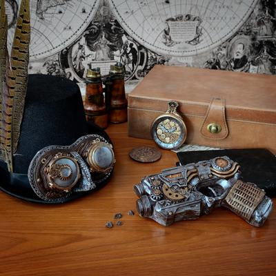 Chocolate Steampunk Gun by Bundled Gifts on OOSTOR.com