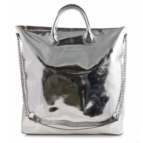 Metallic Shopper XXL Tote Bag