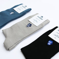 Train Mens Socks - Three Pack by Tramp Menswear on OOSTOR.com