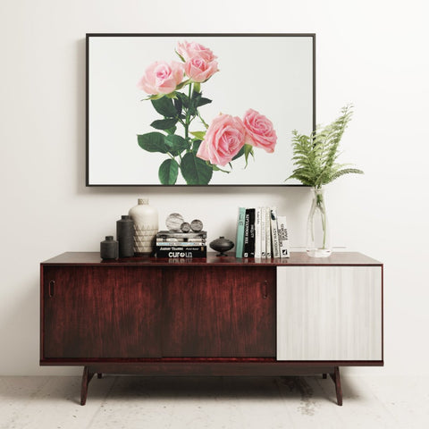 Spring Roses Photographic Art Print by Cassia Beck on OOSTOR.com