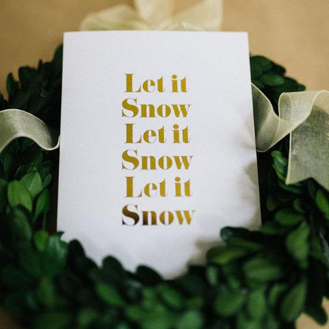 Let It Snow | Card