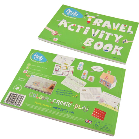 Travel Activity Book by Pipity on OOSTOR.com