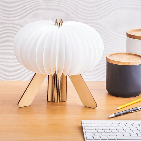 The R Space Lamp - Maple by Gingko