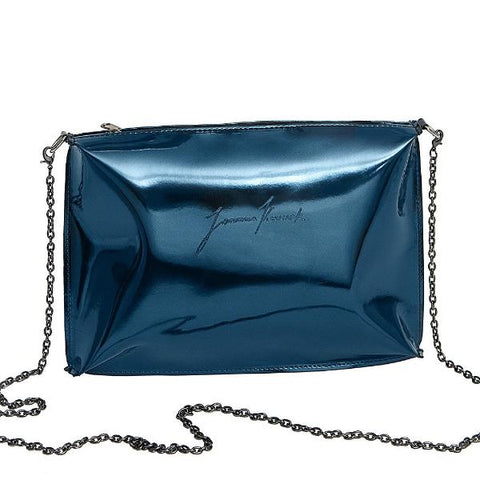 Turquoise Clutch Bag by Joanna Kruczek on OOSTOR.com