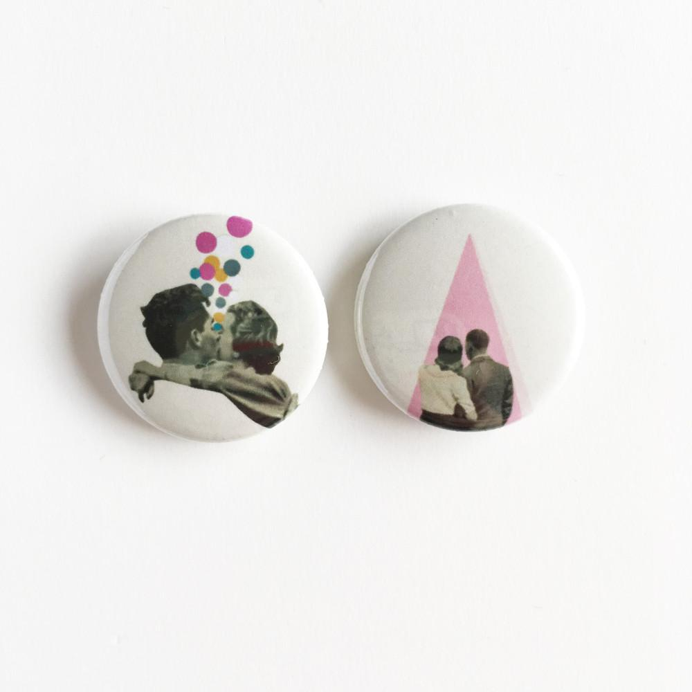 Badge Set - True Romance by Cassia Beck on OOSTOR.com