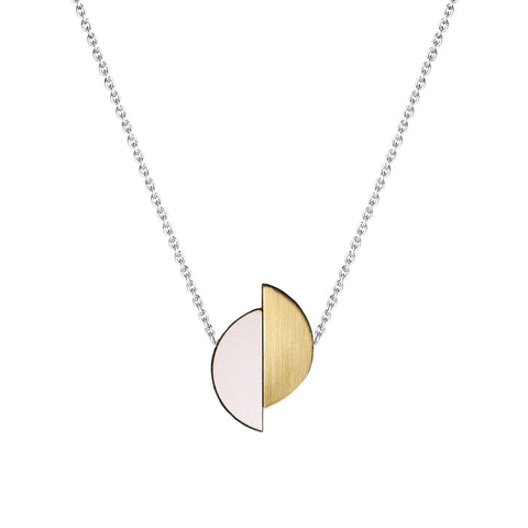 The Lizzie - Just Rose Reversible Necklace by form.london on OOSTOR.com