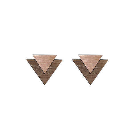 The Art - Copper Cufflinks by form.london on OOSTOR.com