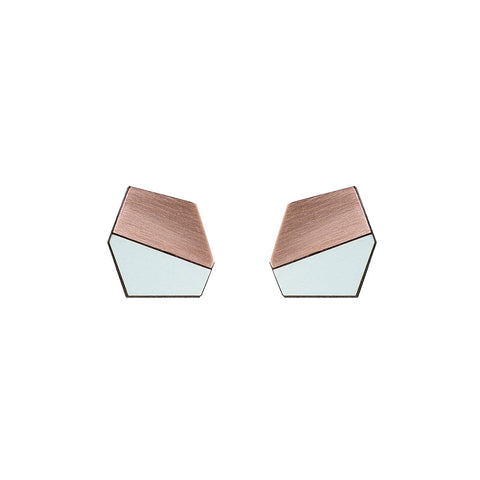 The Jonathan - Aquamarine Cufflinks by form.london on OOSTOR.com