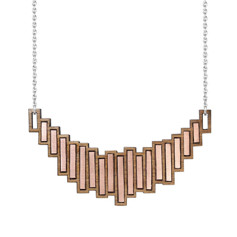 The Stella - Copper Necklace by form.london on OOSTOR.com