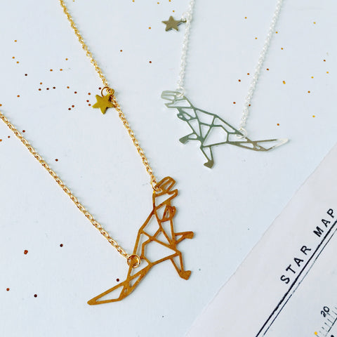 Tyrannosaurus Major Constellation Necklace by Eclectic Eccentricity on OOSTOR.com