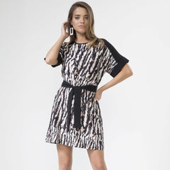 Leopard Dress With Belt