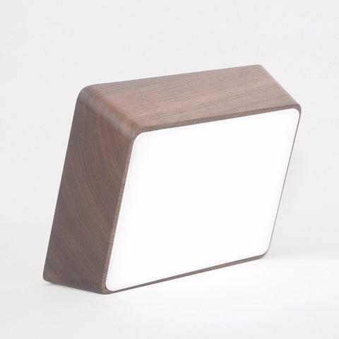 Walnut Brick Lamp by Hyfen on OOSTOR.com