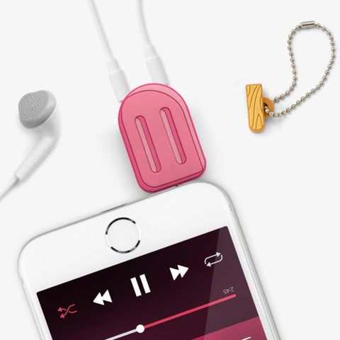 Ice Lolly Audio Splitter by Mustard Gifts on OOSTOR.com