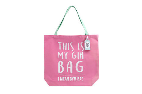 Gym & Tonic Gin Tote Bag by Sole Favors on OOSTOR.com