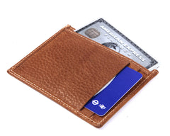 Mini Wallet - Caramel Tan