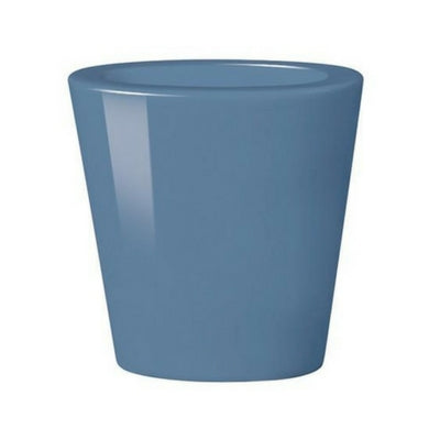 Medium Blue Oval Cone Vase – Double Wall by My Maison Designs Ltd on OOSTOR.com