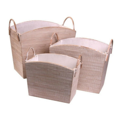 Bamboo Baskets by My Maison Designs Ltd on OOSTOR.com