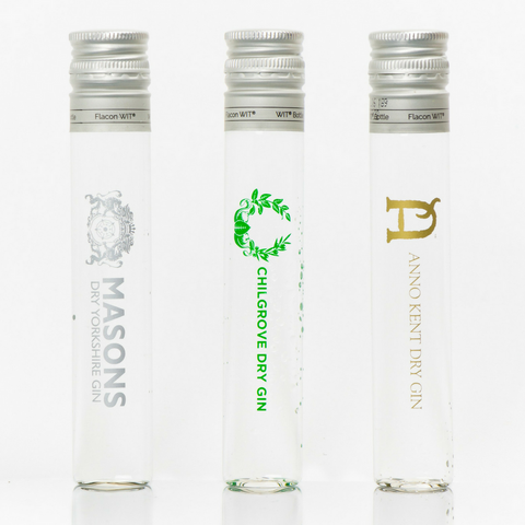 English County Gins Tasting Set by Drinks in Tube on OOSTOR.com