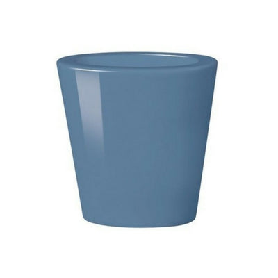 Small Blue Oval Cone Vase – Double Wall by My Maison Designs Ltd on OOSTOR.com