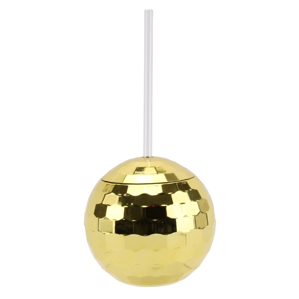 Gold Disco Ball Tumbler by Sole Favors on OOSTOR.com