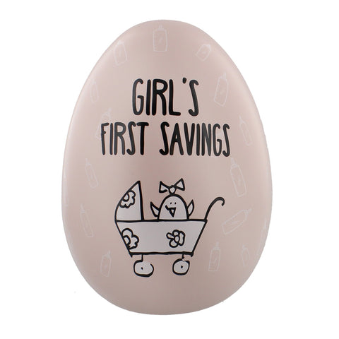 Girls First Savings - Large Nest-Egg by Sole Favors on OOSTOR.com