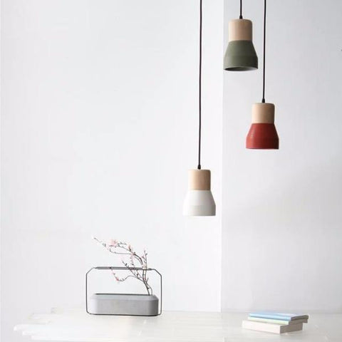 Cement Wood Lamp by IntoConcrete Inc on OOSTOR.com
