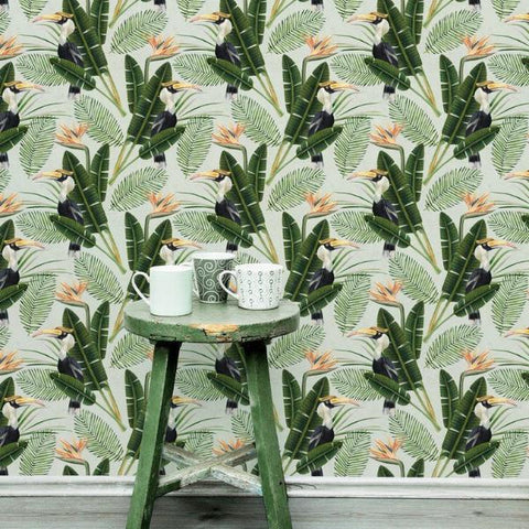 Birds Of Paradise Wallpaper by Pad Home on OOSTOR.com