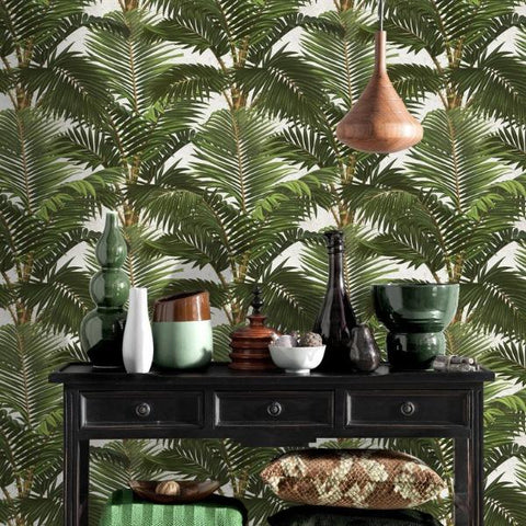 Jardin Tropical Wallpaper by Pad Home on OOSTOR.com