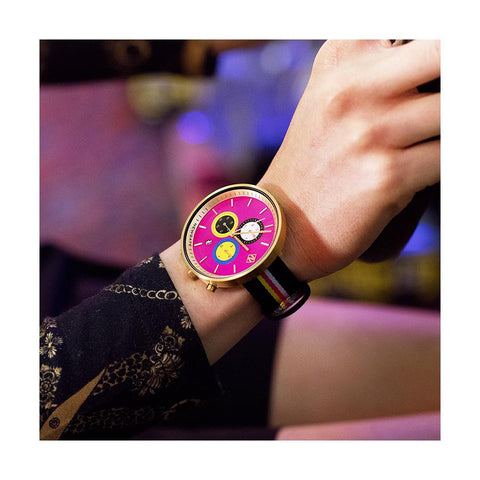 G6S Pussy | Women's Colourful Pink Watch | Chronograph