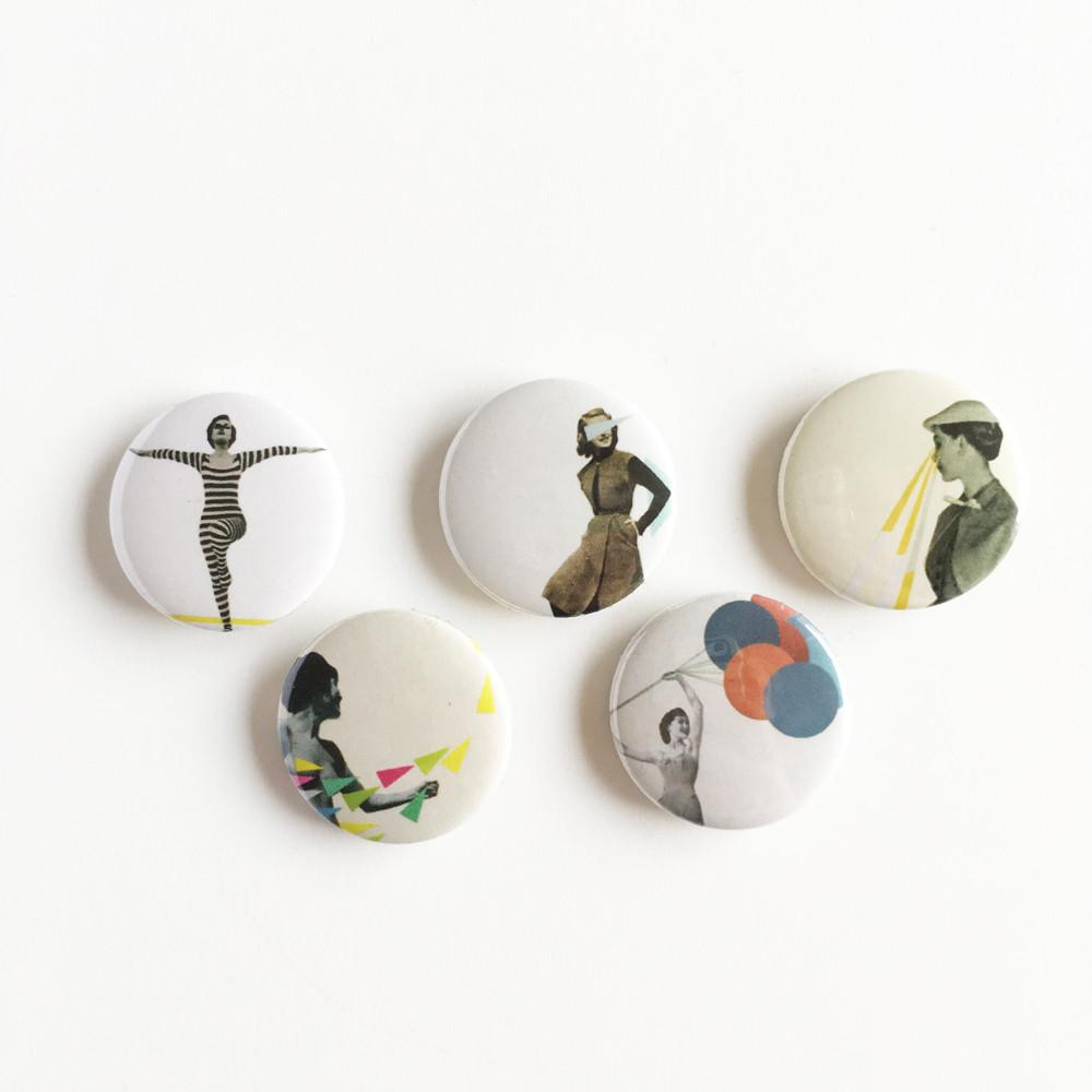 Badge Set - Wonderful Women by Cassia Beck on OOSTOR.com