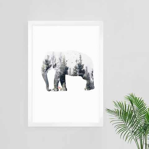 Double Shot Print by Action Zebra on OOSTOR.com